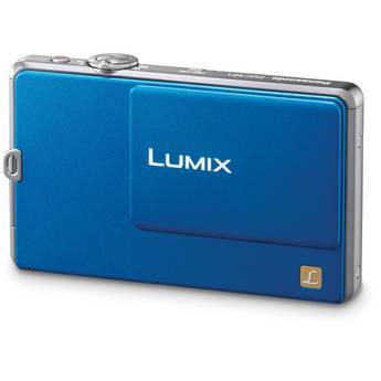 Panasonic LUMIX DMC-FP1 Digital Camera (Blue)