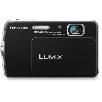 Panasonic Lumix DMC-FP5 Digital Camera (Black)
