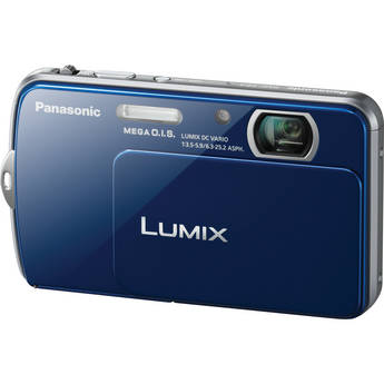 Panasonic Lumix DMC-FP7 Digital Camera (Blue)