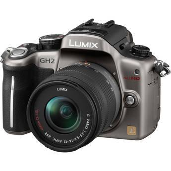 Panasonic Lumix DMC-GH2 Digital Camera W/14-42mm Lens (Silver)