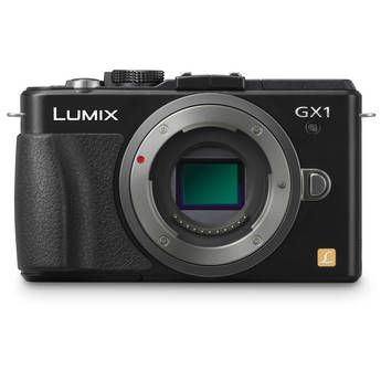Panasonic LUMIX DMC-GX1 Mirrorless Micro Four Thirds Digital Camera Body (Black)