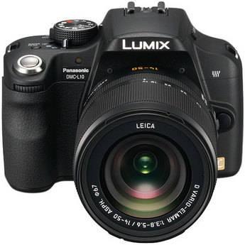 Panasonic Lumix DMC-L10 SLR Digital Camera with Leica 14-50mm Lens