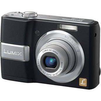 Panasonic Lumix DMC-LS80 Digital Camera (Black)