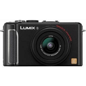 Panasonic Lumix DMC-LX3 Digital Camera (Black)