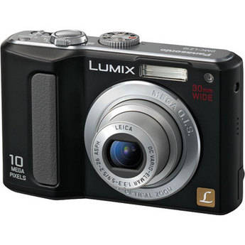 Panasonic Lumix DMC-LZ10 Digital Camera (Black)