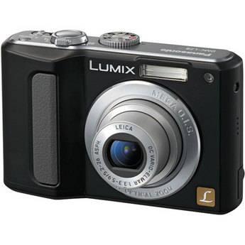 Panasonic Lumix DMC-LZ8 Digital Camera (Black)