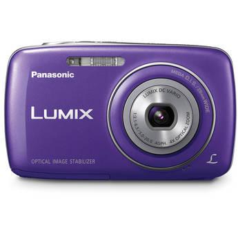 Panasonic Lumix DMC-S3 Digital Camera (Blue)