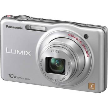 Panasonic LUMIX DMC-SZ1 Digital Camera (Silver)