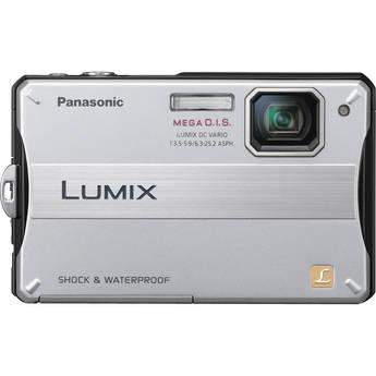 Panasonic Lumix DMC-TS10 Digital Camera (Silver)