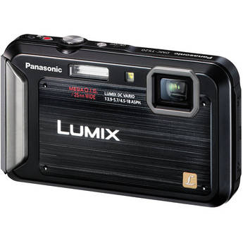 Panasonic Lumix DMC-TS20 Digital Camera (Black)