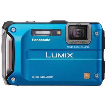 Panasonic Lumix DMC-TS4 Digital Camera (Blue)