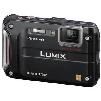 Panasonic Lumix DMC-TS4 Digital Camera (Black)
