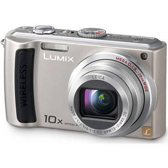 Panasonic Lumix DMC-TZ50 Digital Camera (Silver)