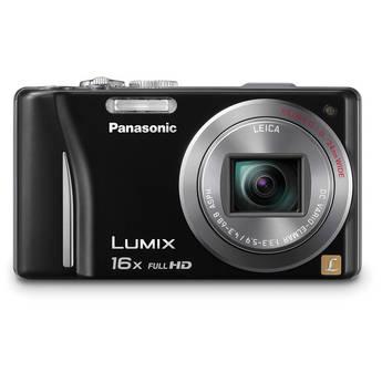 Panasonic Lumix DMC-ZS10 Digital Camera (Black)