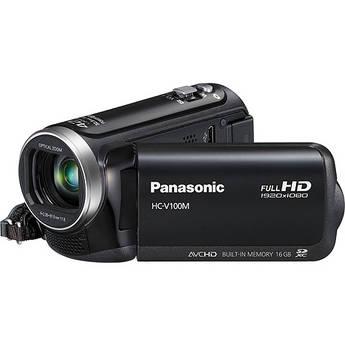 Panasonic 16GB HC-V100M HD Camcorder