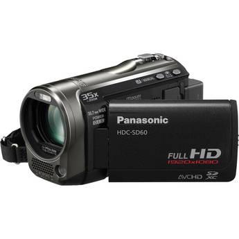 Panasonic HDC-SD60 High Definition Camcorder (Black)