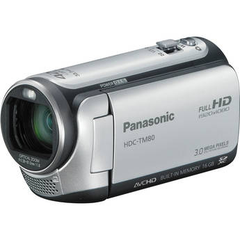 Panasonic HDC-TM80 High Definition Camcorder (Silver)