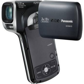 Panasonic HX-WA10 HD Waterproof Dual Camcorder (Black)