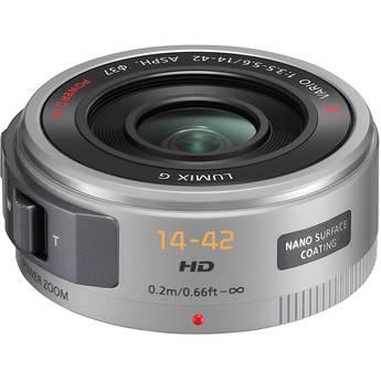 Panasonic Lumix G X Vario PZ 14-42mm f/3.5-5.6 Power O.I.S. Lens (Silver)