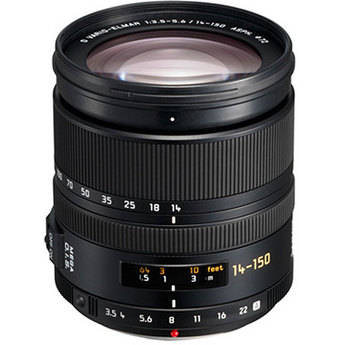Panasonic 14-150mm f/3.5-5.6 Vario-Elmar MEGA O.I.S. Lens for Four Thirds