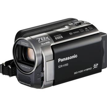 Panasonic SDR-H100 Camcorder (Black)