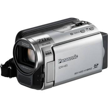 Panasonic SDR-H85 Standard Definition Camcorder (Silver)