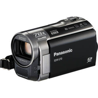 Panasonic SDR-S70 Camcorder (Black)