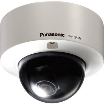 Panasonic WV-SF346 H.264 HD Vandal-Resistant Fixed Dome Network Camera (NTSC)
