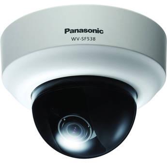 Panasonic WV-SF538 Super Dynamic Full HD Dome Network Camera (NTSC)