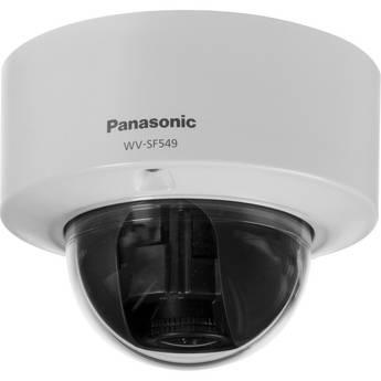 Panasonic WV-SF549 Super Dynamic Full HD Vandal Resistant Dome Network Camera