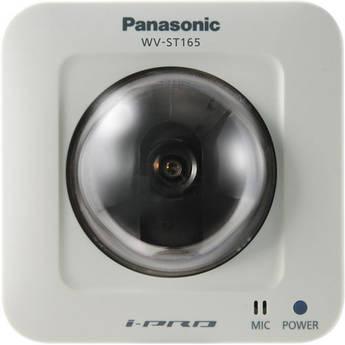 Panasonic WV-ST165 H.264 Pan-Tilt HD Network Camera (NTSC)