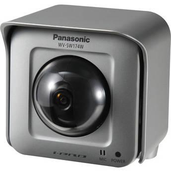 Panasonic WV-SW174W Outdoor Pan-Tilt Wireless Network Camera (NTSC)