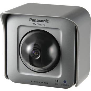Panasonic WV-SW175 H.264 Outdoor Pan & Tilt Network Camera (NTSC)