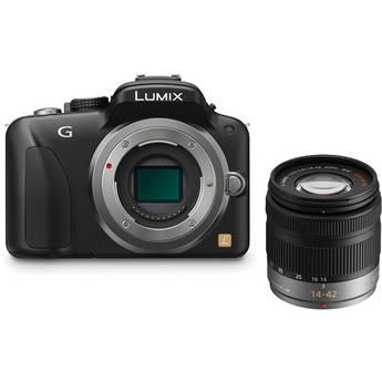 Panasonic Lumix DMC-G3 Mirrorless Micro Four Thirds Digital Camera with 14-42mm f/3.5-5.6 Lens Kit