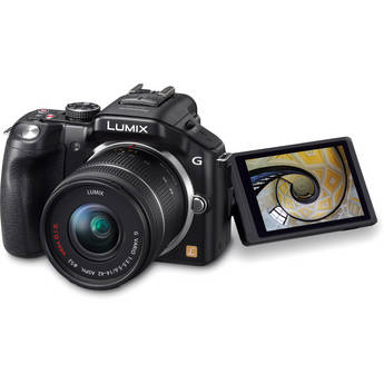 Panasonic Lumix G5 Mirrorless Micro Four Thirds Digital Camera with Lumix G Vario 14-42mm Lens (Black)
