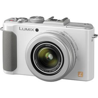 Panasonic Lumix DMC-LX7 Digital Camera (White)