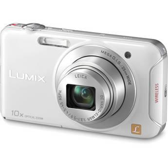 Panasonic Lumix DMC-SZ5 Digital Camera (White)