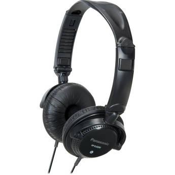 Panasonic RP-DJS200 DJ-Style Headphones (Black)