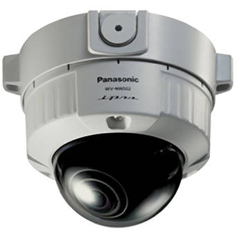 Panasonic WV-NW502S/15 Vandal-Resistant Fixed Dome HD Network Camera (NTSC)