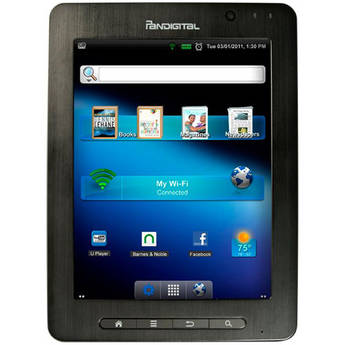 "Pandigital 4GB SuperNova 8"" Android Media Tablet & Color eReader"
