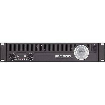 Peavey PV900 Rackmount Stereo Power Amplifier (180W/Channel @ 8 Ohms)