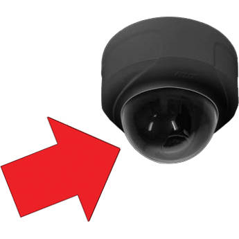 Pelco Sarix IM Megapixel Lower Dome (Black, Smoked)