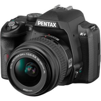 Pentax K-r Digital SLR Camera with 18-55mm Zoom Lens (Black)