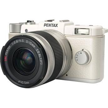 Pentax Q Digital Camera with 5-15mm Lens (White)