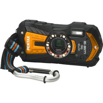 Pentax Optio WG-2 GPS Digital Camera (Orange)