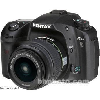 Pentax K10D SLR, Digital Camera (Camera Body)