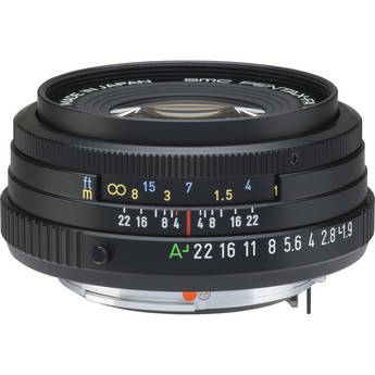 Pentax SMCP-FA 43mm f/1.9 Limited Series Autofocus Lens (Black)