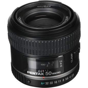Pentax Normal smc P-D FA 50mm f/2.8 Macro Autofocus Lens