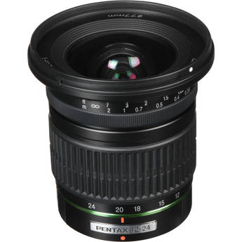 Pentax SMCP-DA 12-24mm f/4 ED AL Autofocus Lens