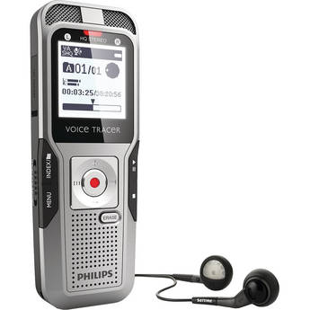 Philips 2GB Voice Tracer 3500 Digital Recorder